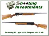 Browning A5 Light 12 70 Belgium 26in VR IC!
