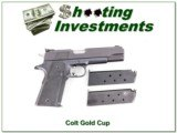 Colt Gold Cup 45 ACP 3 magazines