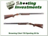 Browning Citori Sporting 725 20 Gauge
