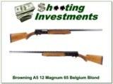 Browning A5 65 Belgium 12 Magnum Blond - 1 of 4