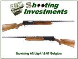 Browning A5 Light 12 67 Belgium Vent Rib