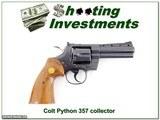 Colt Python 1976 made 357 4in Blued