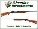 Remington 1100 LW 1100LW 20 Gauge Vent Rib - 1 of 4