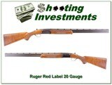 Ruger Red Label 20 Gauge hard to find 28in Full and Mod!