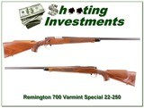 Remington 700 early Varmint Special 22-250