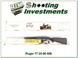 Ruger Mark II 77 Stainless in 25-06 NIB!