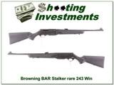 Browning BAR Mark II Stalker Lightweight 243 as new