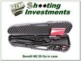 Benelli M2 20 Ga 28in as new in case