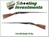 AE Fox AH Grade 12 Gauge rare English stock - 1 of 4