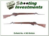 Enfield No.4 MK 1 1942 303 British with bayonet Exc Cond!