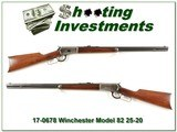 Winchester Model 92 in 25-20 WCF made in 1922