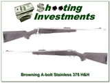 Browning A-bolt Stainless Stalker 375 H&H - 1 of 4