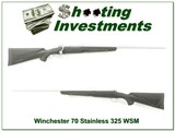 Winchester 70 Stainless Ultimate Shadow in 325 WSM