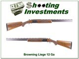 Browning Liege Belgium made 12 Gauge 26.5in