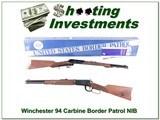 Winchester 94 Carbine 30-30 Border Patrol commemorative NIB