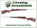 Weatherby Mark V Euromark 300 nice wood!