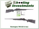Remington 700 Tactical Creakote 300 Win unfired!