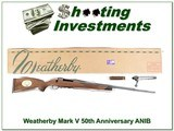 Weatherby Mark V 300 50th Anniversary ANIB!