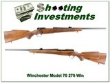 Winchester Model 70 made in 1966 270 Winchester