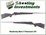 Weatherby Mark V original Fibermark 26in 270 Wthy Mag