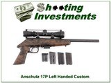 Anschutz 17P Bolt action handgun Custom Stock 17 HMR