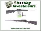 Remington 700 Tactical 223 Remington unfired!
