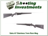 Sako A7 Stainless 7mm Remington Magnum unfired