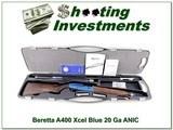 Beretta A400 Xcel 20 Ga Blue Receiver ANIC