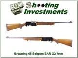 Browning BAR Grade II 68 Belgium Blond 7mm