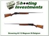 Browning A5 1959 Belgium made Magnum 12 - 1 of 4