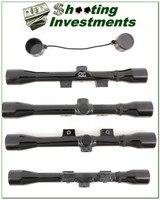 Weatherby XXII 4X 22 Rimfire rifle scope Exc Cond!