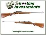 Remington 721-B 1949 in 270 Winchester