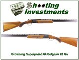 Browning Superposed Lightning 64 Belgium 20 Ga!