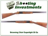 Browning Citori Superlight 12 Gauge MINT!