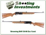 Browning BAR 30-06 Exc Cond!