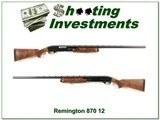 Remington 870 TC Wingmaster 12 Ga Trap