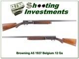 Browning A5 12 Ga 37 Belgium collector!
