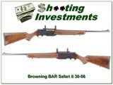 Browning BAR II Safari 30-06