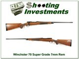 Winchester 70 Classic Super Grade 7mm XX Exc Cond!
