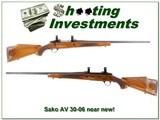 Sako AV Finnbear 30-06 extra nice wood Exc Cond!