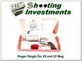 Ruger New Model Single Six 22LR & 22 Mag