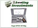 Ruger SP101 2.5in Stainless 357 in box