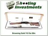 Browning Gold Ladies Clay 12 Ga NIB!