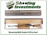 Browning BAR Grade II 270 looks unfired!