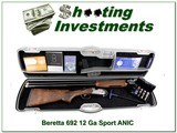 Beretta 629 Sporting 12 Ga ANIC 32in barrels