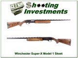 Winchester Super-X Model 1 Skeet XX Wood! - 1 of 4
