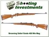 Browning Safari Grade 458 Win Mag Long Extractor!