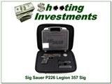 Sig Sauer P226 Legion 357 ANIC