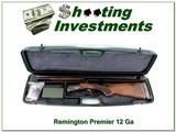 Remington Premier 20 Gauge O/U in case