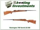 Remington 700 Varmint Special early 22-250
